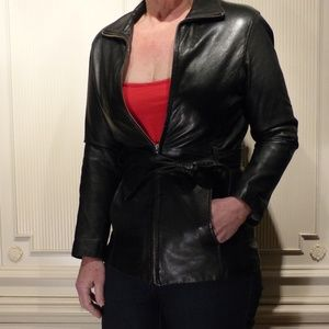 Wilson leather Coat